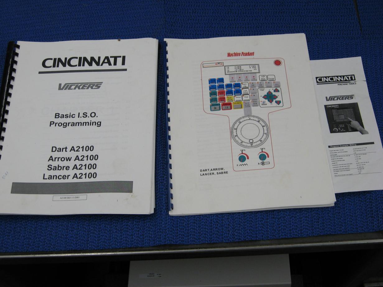 vertical machining center cincinnati arrow 750 rh e cnc com cincinnati milacron manual pdf Cincinnati Milling Machine Manuals